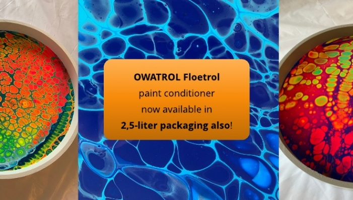 Owatrol Floetrol Paint Contitioner Now Available In 2 5 L